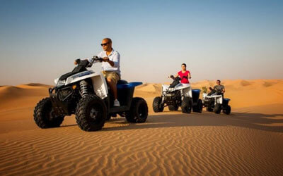 Evening Desert Safari with Quad Bike Dubai