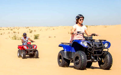 Morning Desert Safari with Quad Bike Dubai