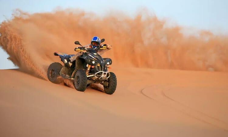 Evening Desert Safari with Quad Bike