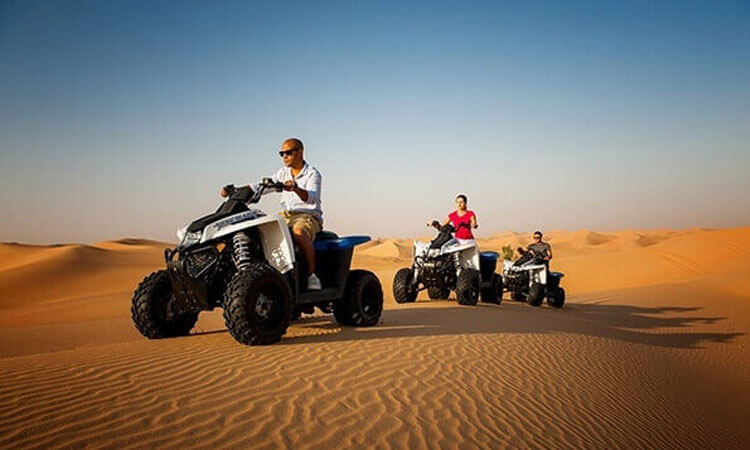 Quad bike Tour Dubai